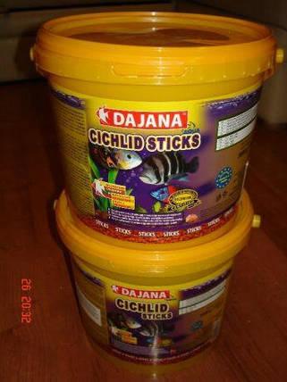Dajana Cichlid Sticks 5л/1,5кг - корм в виде плавающих палочек для цихлид, фото 2