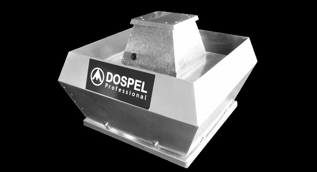 Крышный промышленный вентилятор DOSPEL WDH