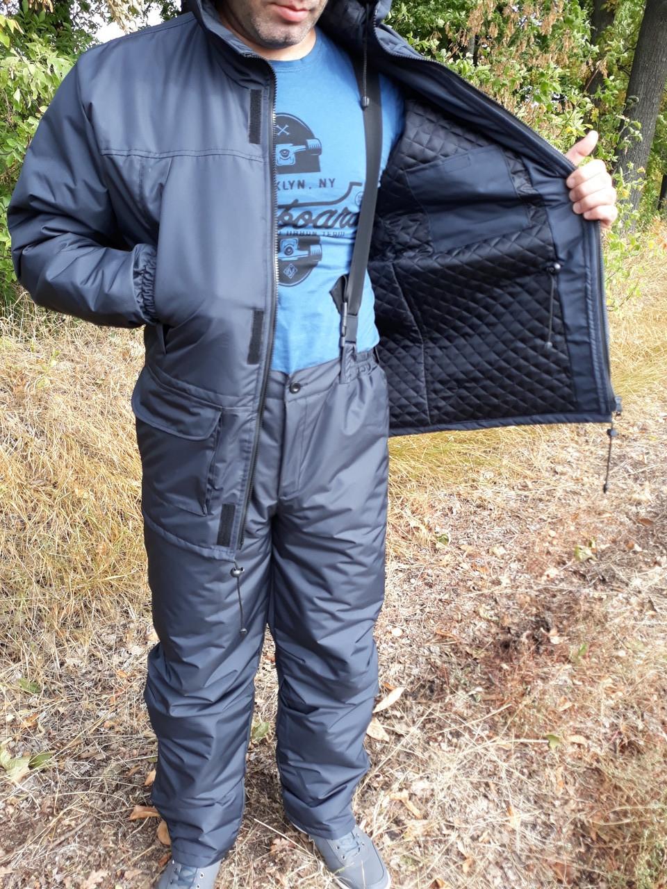 Демісезонний одяг для полювання й риболовлі colambia темно сірий
