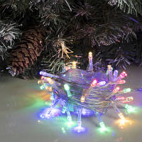 Новогодняя светодиодная LED гирлянда Bonita 100 диодов 8 м мультицветная RGB