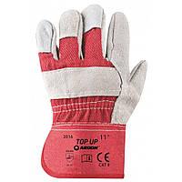Перчатки рабочие комбинированные х\б + спилок Ardon TOP UP