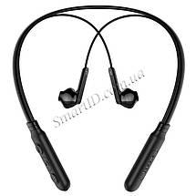 Беспроводные Bluetooth наушники Baseus Encok Neck Hung Earphone S16 со встроенным микрофоном (Черные), фото 2