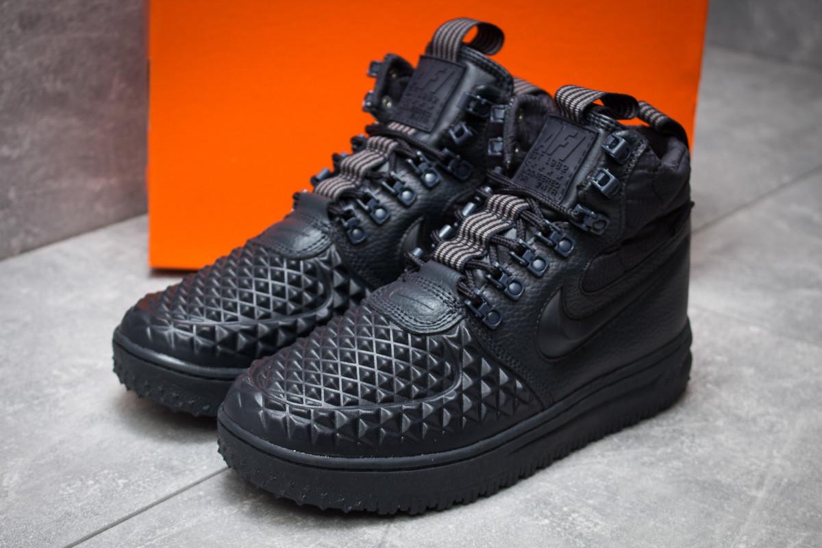 Зимние кроссовки в стиле Nike LF1 Duckboot, темно-синий (30253),   990ad333314
