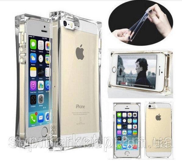 Силиконовый чехол для Apple iPhone 5, Ice Cube