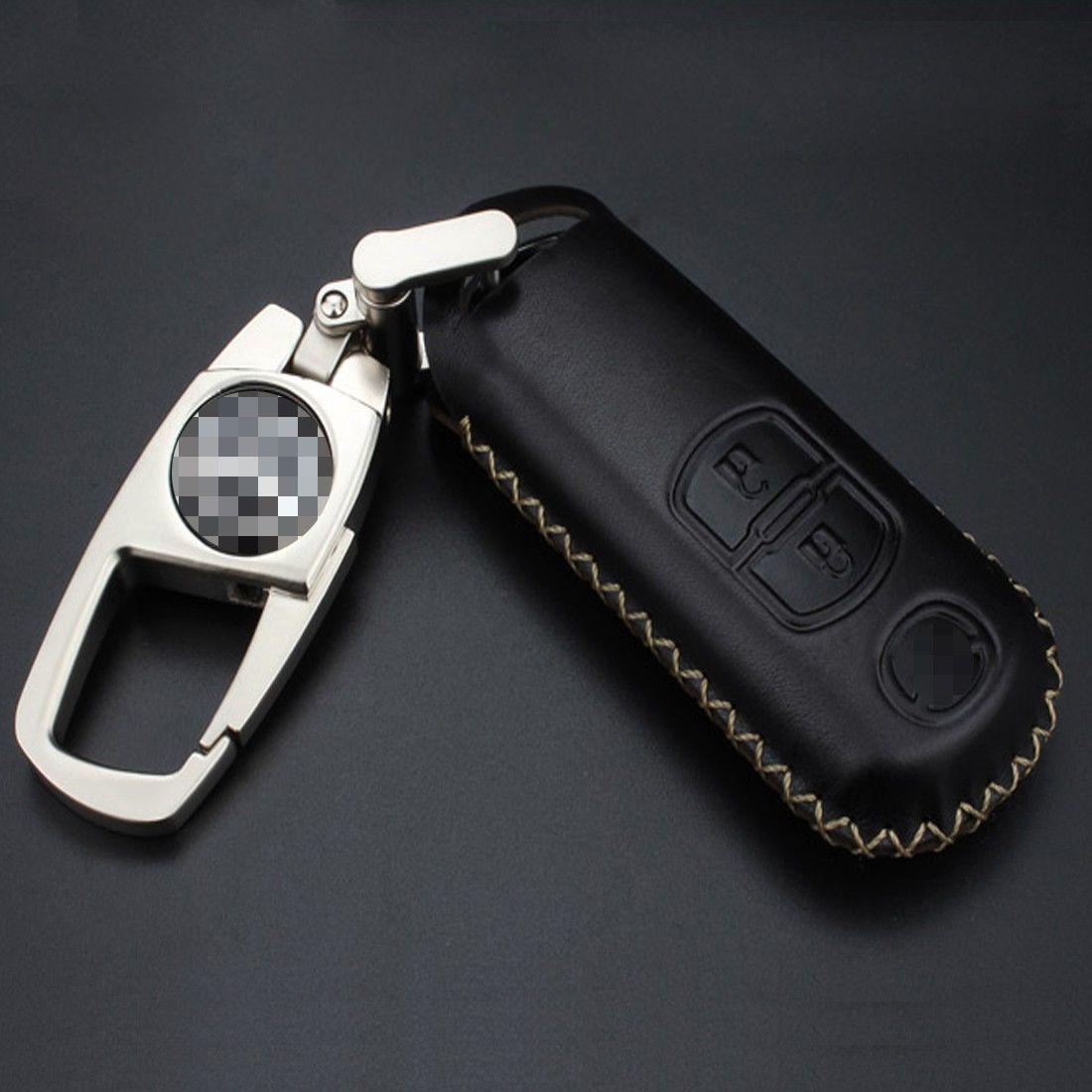 Кожаный чехол для ключа Mazda 2,3,5,6,8 MX5 CX5,9