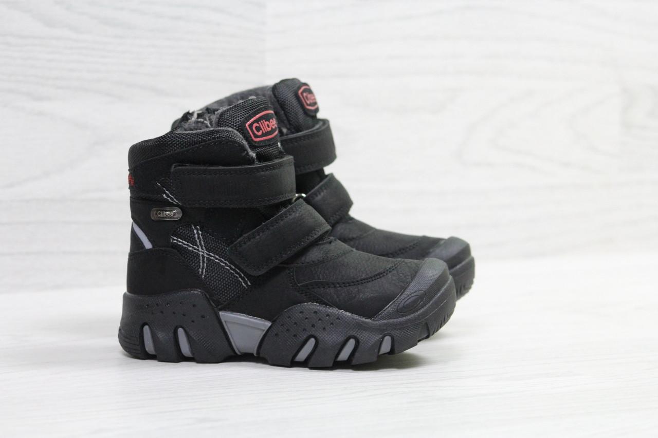Зимние ботинки Clibee,на меху,черные 31