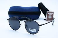 Солнцезащитные очки Matrix круглые черные , фото 1