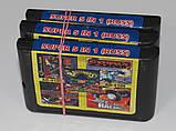 Картридж для Sega Mega Drive 2 5в1, фото 3