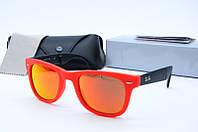 Солнцезащитные очки Rb оранжевые, фото 1