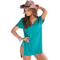 Mint Cozy Short Sleeves T-shirt Cover-up