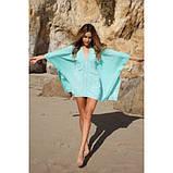 Милое пляжное пончо-кимоно, фото 3