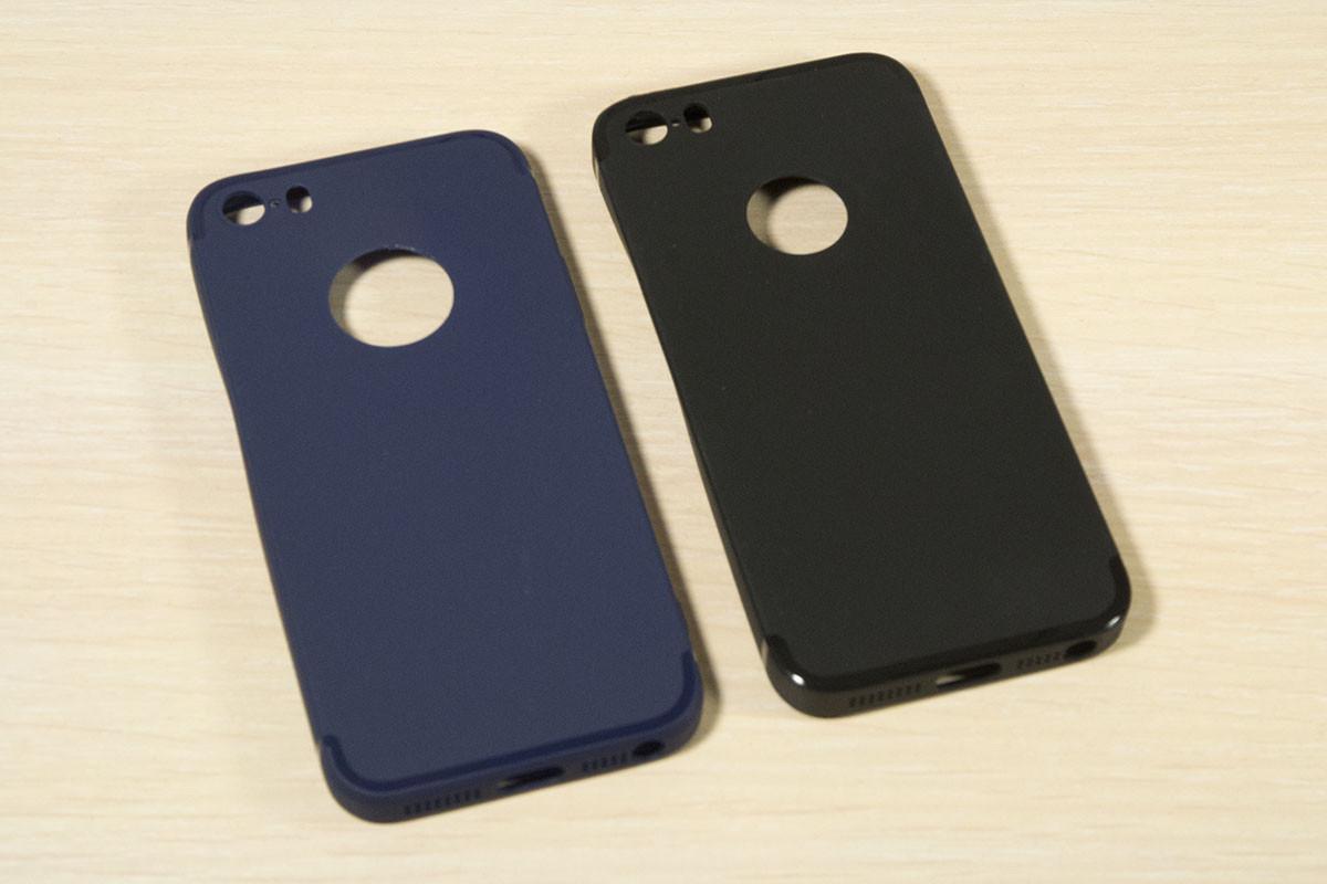 TPU чехол для iPhone 5 / 5S / SE (2 Цвета)