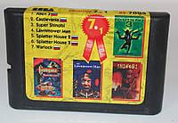 Картридж для Sega Mega Drive 2 7в1