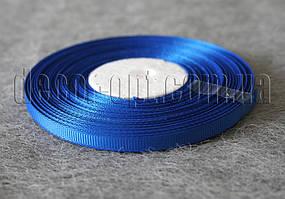 Лента репсовая темно-синяя 0,6 см 25 ярд арт.40