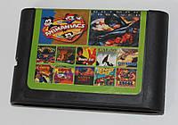 Картридж для Sega Mega Drive 2 12в1