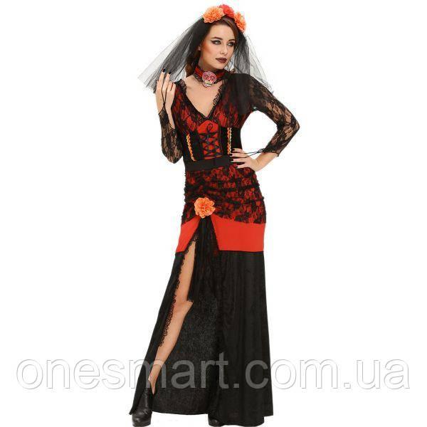 Костюм Дива Хэллоуина ко Дню мертвых