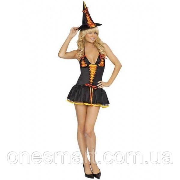Карнавальный костюм Ведьмочка.