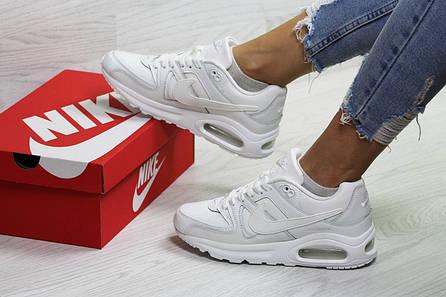 7d7bc729ebab Топ продаж Кроссовки белые кожаные найк эйр макс демисезонные (реплика)  Nike Air Max White Leather