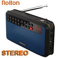 T60-R - FM радио,  MP3-плеер, колонки 3 Вт*2, светодиодный экран, фонарик, поддержка карты памяти., фото 1