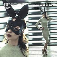 Портупея на лицо маска кролика, портупея маска