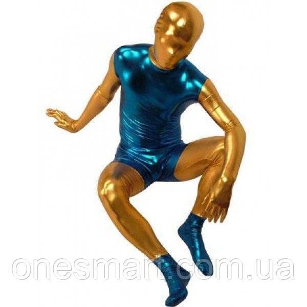 РОЗПРОДАЖ! Золотисто-синій комбінезон