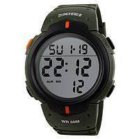 Skmei 1068 зеленые мужские спортивные часы, фото 1