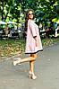 Платье свободного кроя с люрексом, отделка кружевом / 2 цвета  арт 7097-594, фото 2