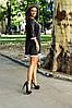 Платье свободного кроя с люрексом, отделка кружевом / 2 цвета  арт 7097-594, фото 6