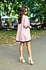 Платье свободного кроя с люрексом, отделка кружевом / 2 цвета  арт 7097-594, фото 7
