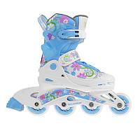 Роликовые коньки Nils Extreme NJ2117A Size 38-41 Blue/Pink