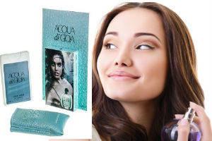 Женские мини-парфюмы в кожанном чехле 20ml