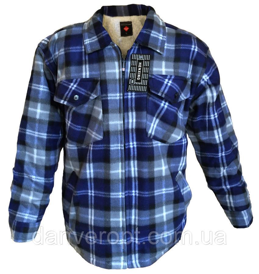 34405a2ce306a7d Рубашка мужская молодёжная тёплая в клетку размер 50-58 купить оптом со  склада 7км Одесса