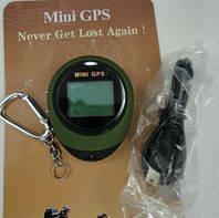 (Оригинал) Портативный мини gps навигатор PG03 - брелок для туристов, грибников и т. п