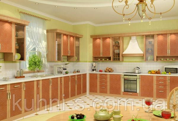 "Недорогие кухни  в Киеве фасад ""Софт"" цена 1500 грн за м/п"