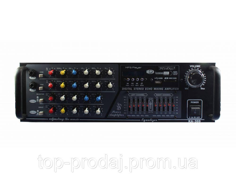 Усилитель AMP KA300/2016, Цифровой усилитель мощности, Звуковой усилитель звука, Усилитель стереофонический