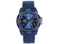 Мужские часы Swiss Army  Синий