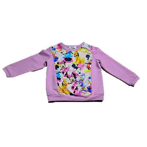 Реглан розового цвета MINI MAUS для девочки, Mevis