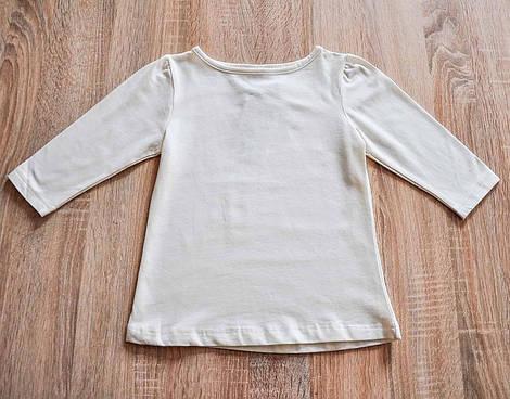 Реглан молочного цвета для девочки, Valeri tex