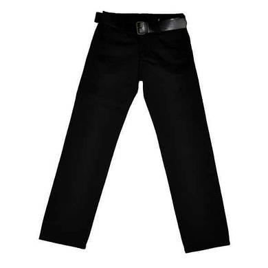 Детские черные брюки для мальчика