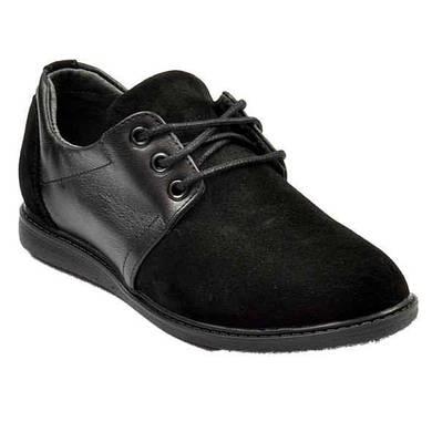 Туфли комбинированные кожаные для мальчика Bistfor
