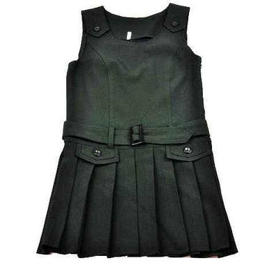 Школьный костюм-тройка зеленый для девочки