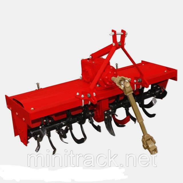 Фреза для минитрактора, 1,4 м, с карданным валом