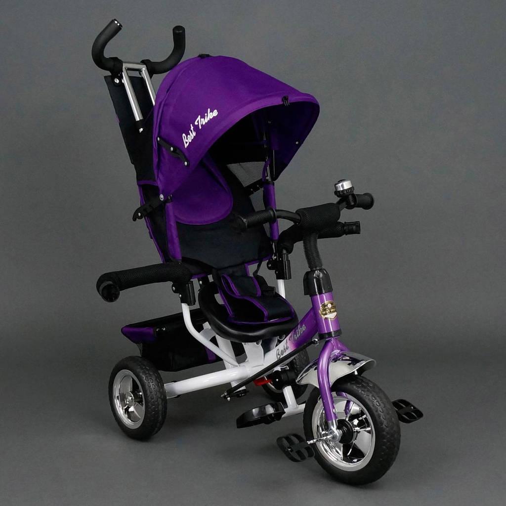 Детский трёхколёсный велосипед 6588 ФИОЛЕТОВЫЙ