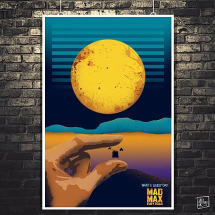 Постер Max Max: Fury Road, Безумный Макс: Дорога ярости. Размер 60x41см (A2). Глянцевая бумага, фото 2