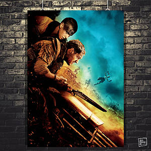 Постер Max Max: Fury Road, Безумный Макс: Дорога ярости. Размер 60x41см (A2). Глянцевая бумага