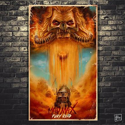 Постер Max Max: Fury Road, Безумный Макс: Дорога ярости. Размер 60x36см (A2). Глянцевая бумага, фото 2