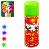 Спрей - краска для волос XF-FJ1508, объем 250 мл, цвета ассорти, краска для волос, декоративная краска