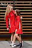 """Прямое трикотажное детское платье """"RITA"""" с карманами и капюшоном (3 цвета), фото 2"""