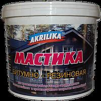 Мастика Akrilika Резино-Битумная 24 кг (31304)