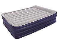 Кровать надувная 2-спальная Bestway 67528(203х152х56)